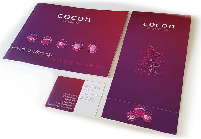 Brochure, Cadeaubon, Visitekaartje